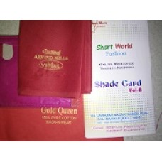 sample standaer with shadecard (for fabric & fall )